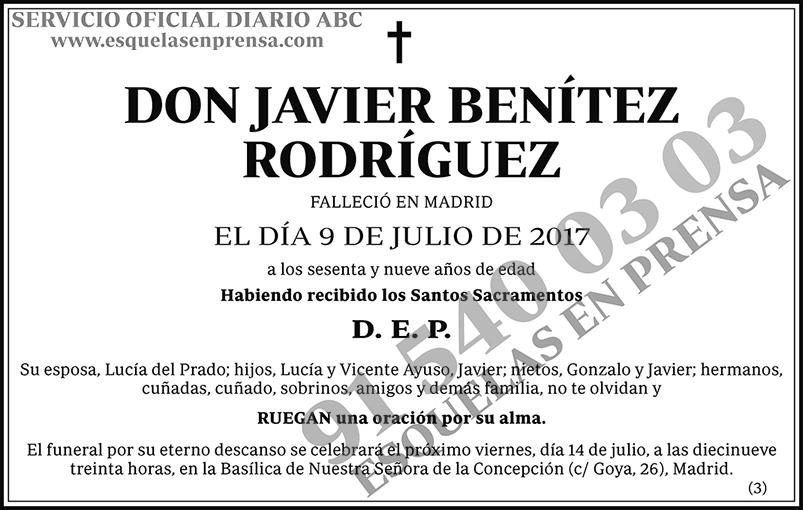 Javier Benítez Rodríguez